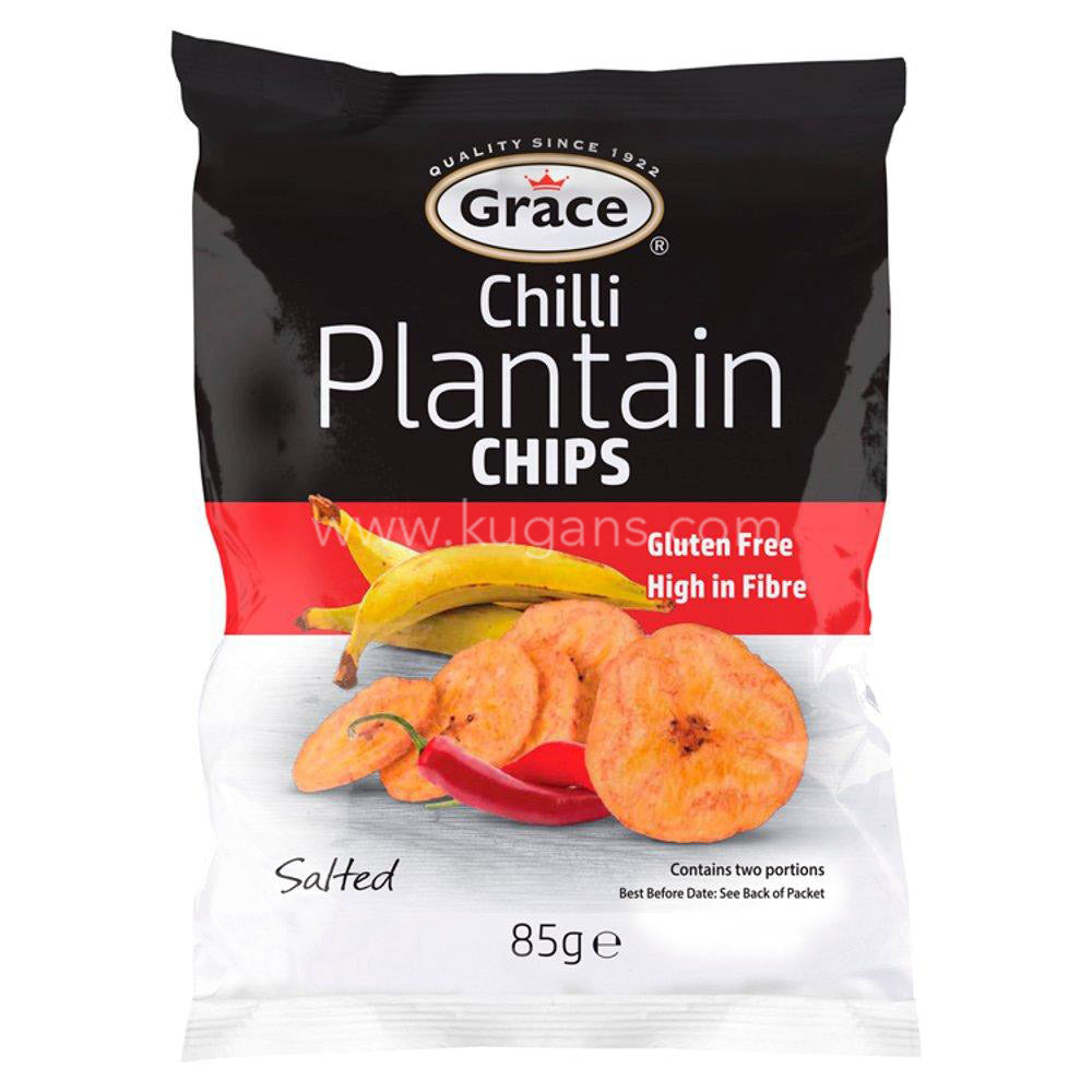 Buy cheap GRACE CHILLI PLANTAIN CHIPS Online