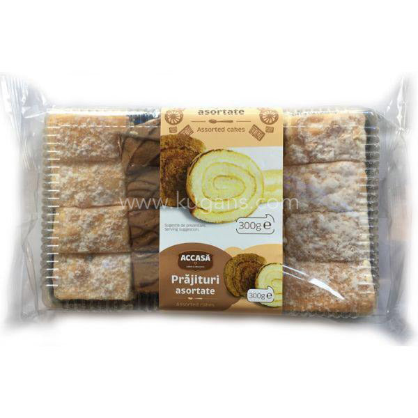 Buy cheap ACCASA CAKE ASSORTED 300g Online