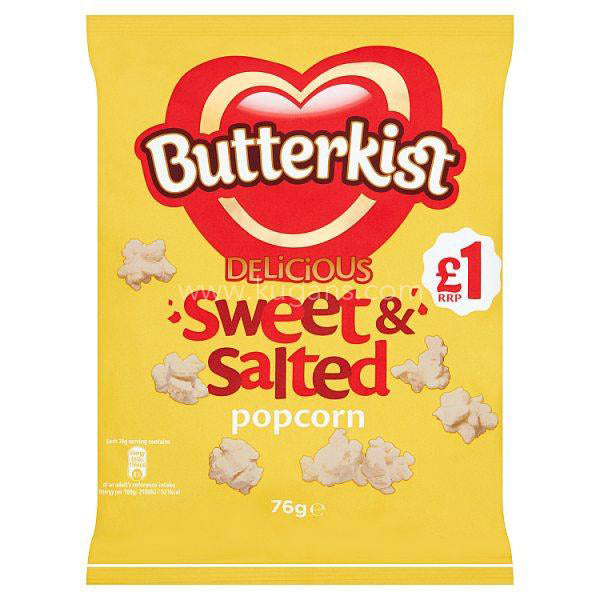 Buy cheap BUTTERKIST SWEET & SALT 58G Online