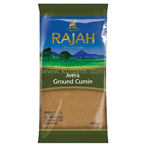 Buy cheap RAJAH GROUND JEERA 400G Online