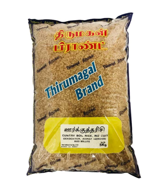 Buy cheap THIRUMAGAL COUNTRY BOILED 5KG Online