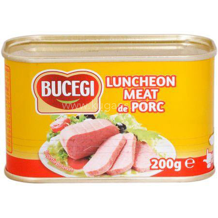 Buy cheap BUCEGI LUNCHEON MEAT PORC Online
