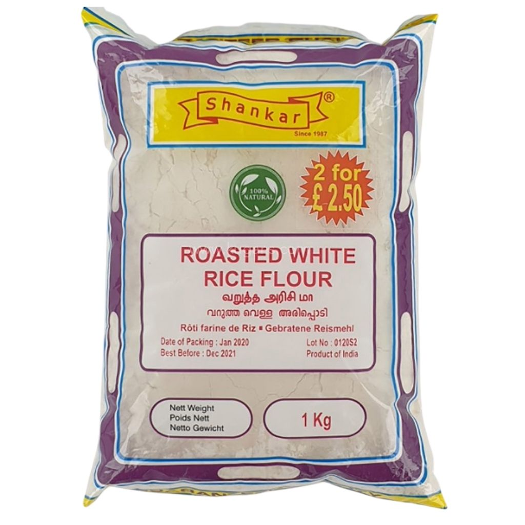 Buy cheap ROASTED WHITE RICE FLOUR 1KG Online