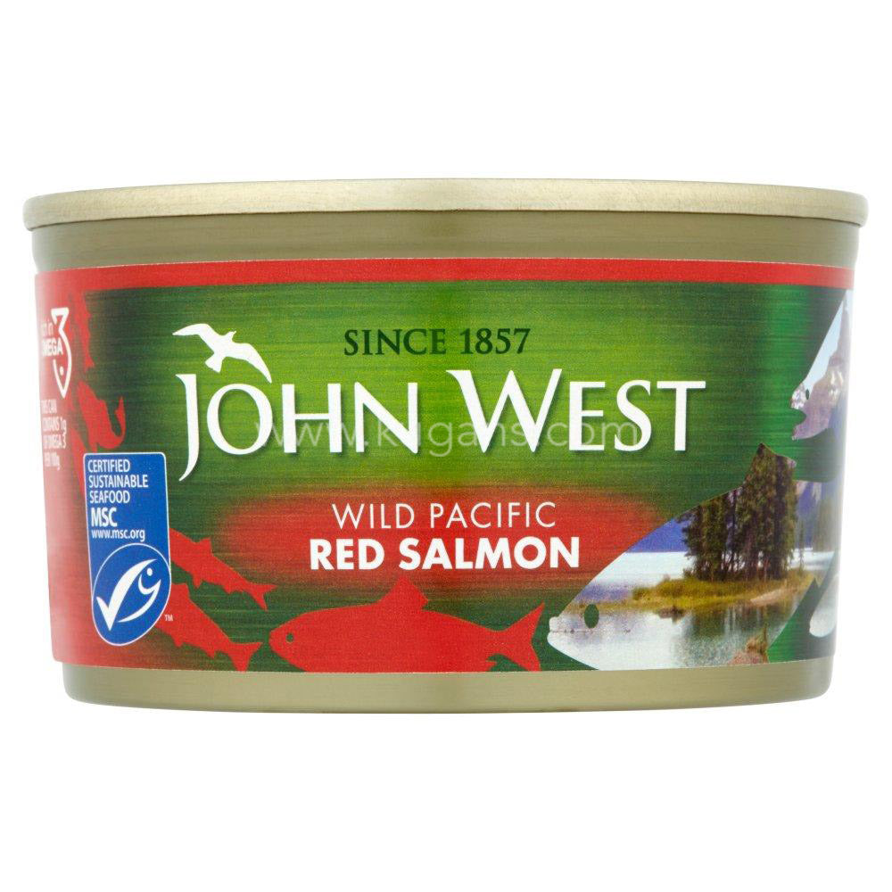 Buy cheap JOHN WEST WILD RED SALMON 213G Online