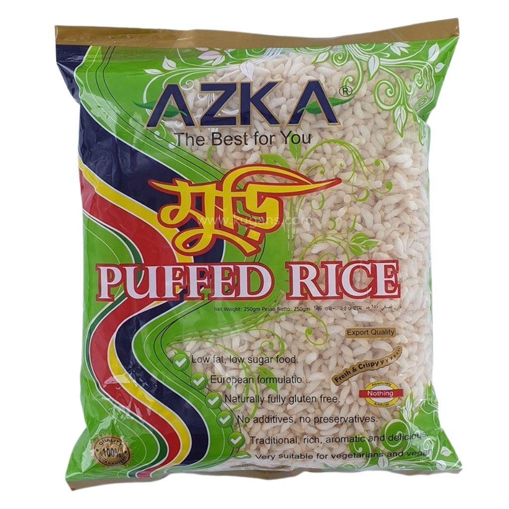 Buy cheap AZKA PUFFED RICE 250G Online