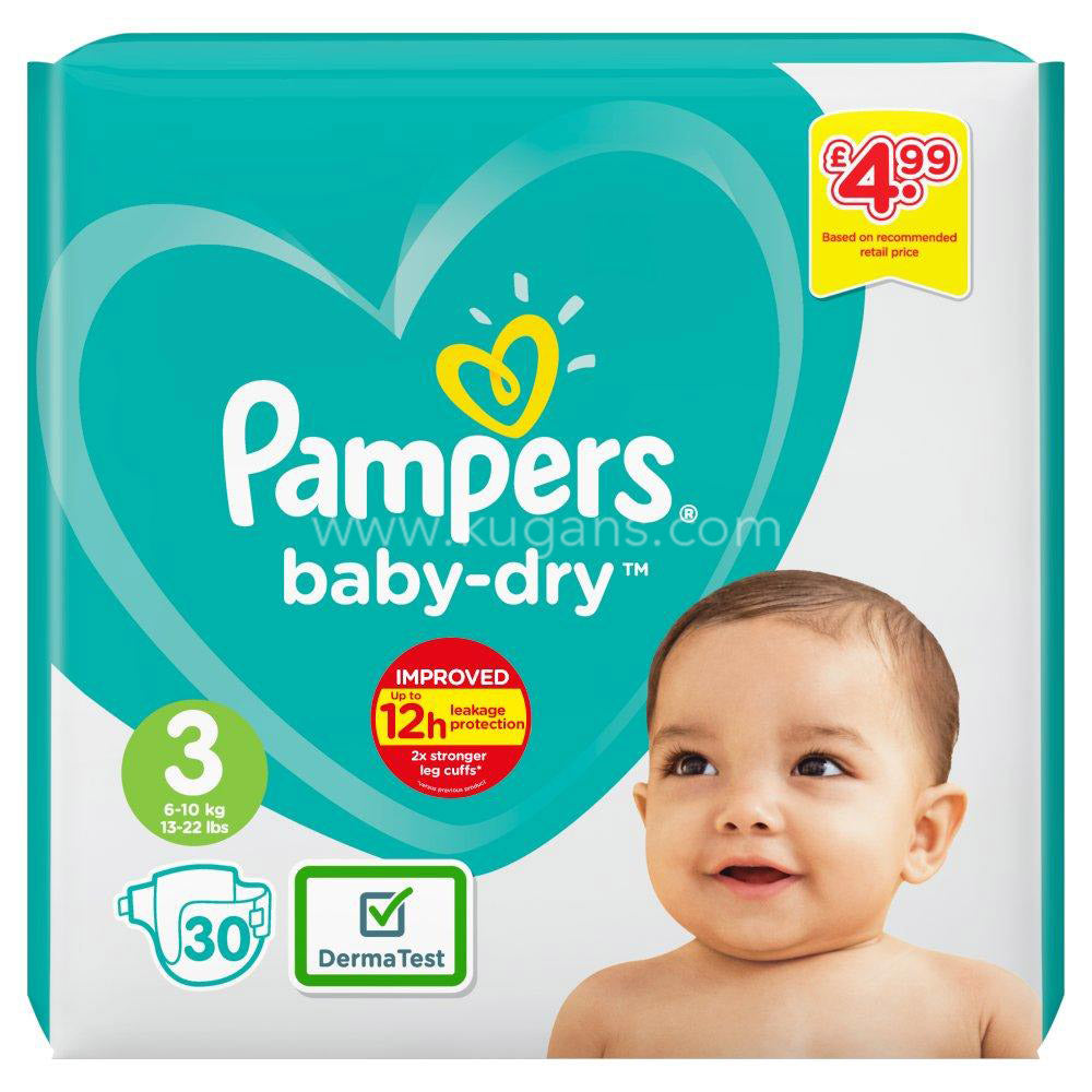 Buy cheap PAMPERS SIZE 3 Online