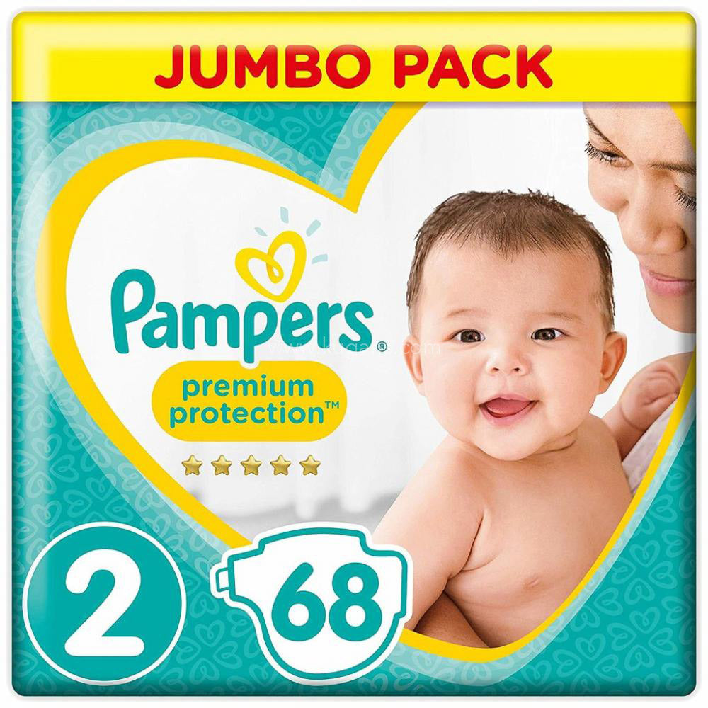 Buy cheap PAMPERS JUMBO PACK NO 2 68 27S Online