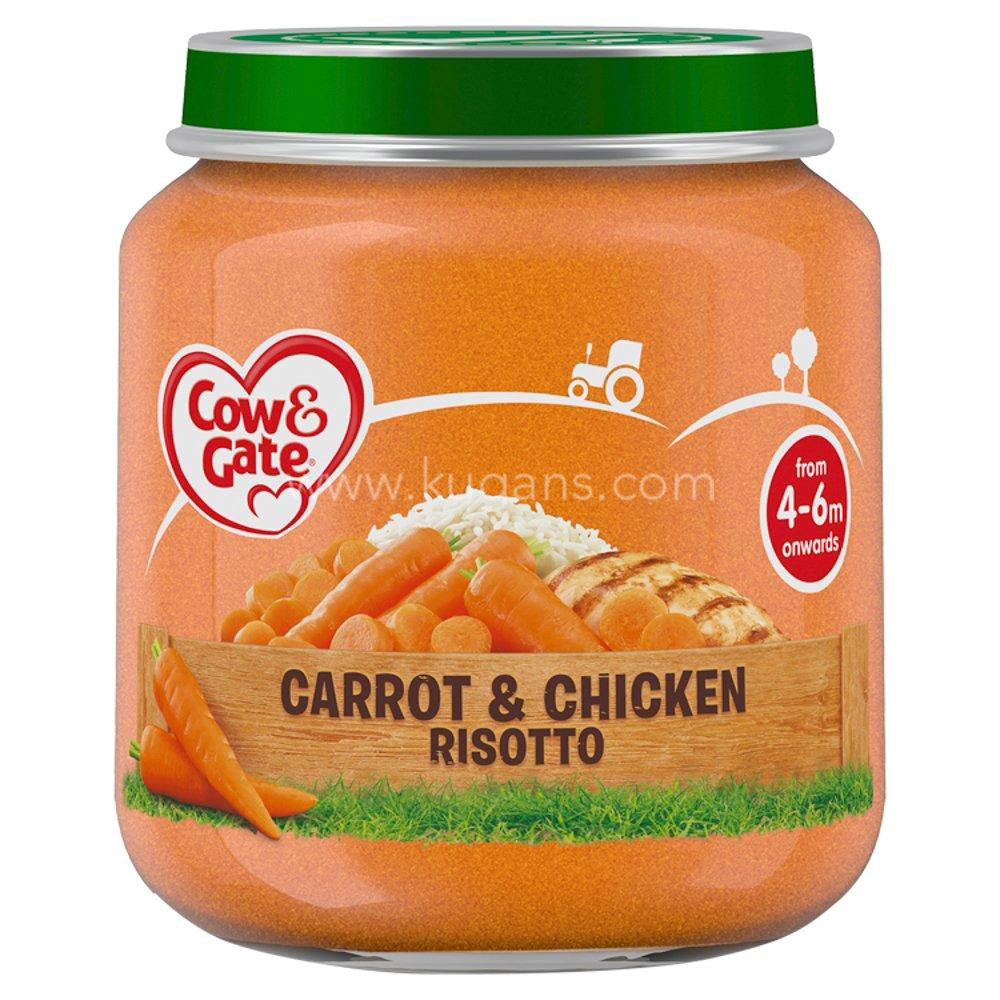 Buy cheap COW&GATE CARROT&CHKN RISOTTO Online