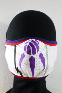Toronto Raptors Up-Cycled Mask (WHITE)