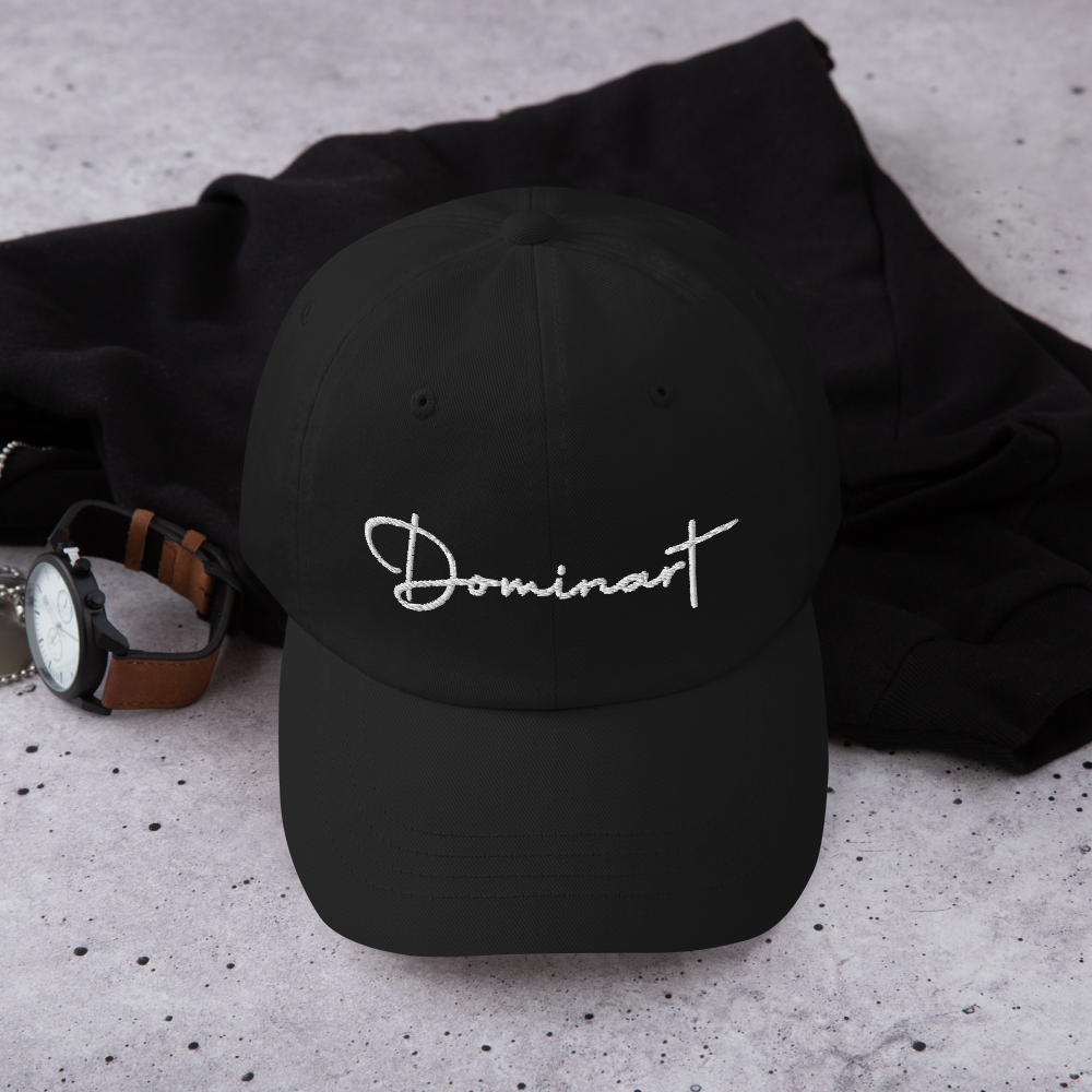 Dominart White Dad hat