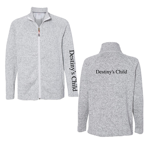 Destiny's Child DC Printed Zip Fleece Jacket
