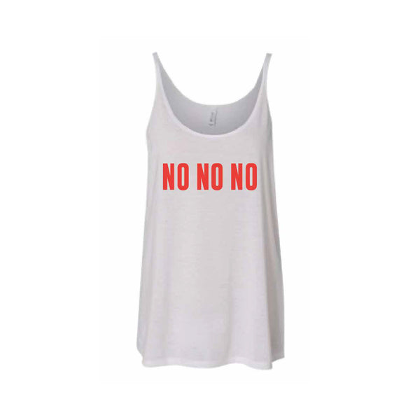 Destiny's Child NO NO NO Slouchy Tank - White