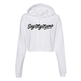 Destiny's Child Say My Name Crop Hoodie