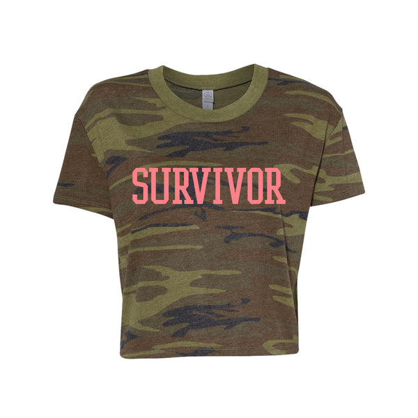 Destiny's Child Survivor Camo Crop Tee