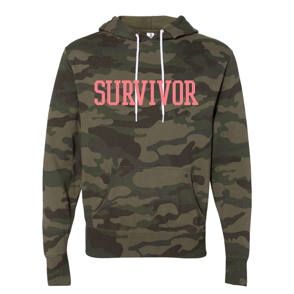 Destiny's Child Survivor Camo Pullover Hoodie