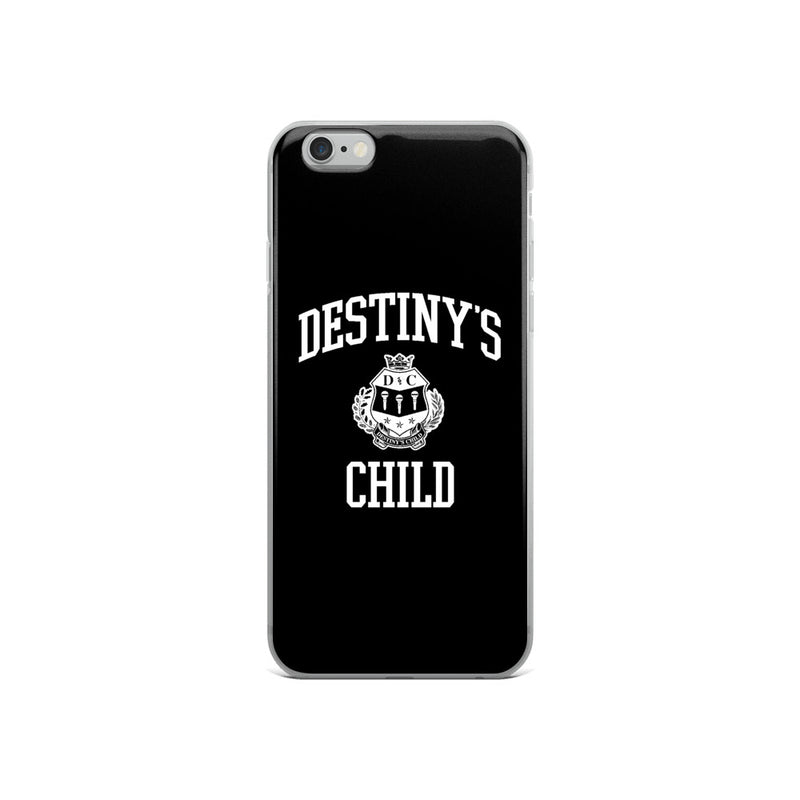 Destiny's Child Black iPhone Case