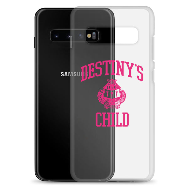 Destiny's Child Clear Samsung Case
