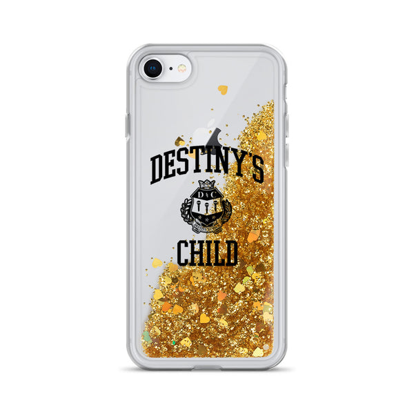 Destiny's Child Liquid Glitter iPhone Case