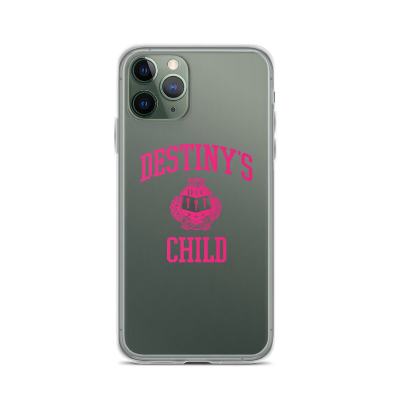 Destiny's Child Clear iPhone Case