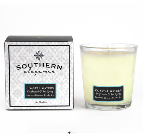 Coastal Waters: Driftwood & Sea Spray Candle