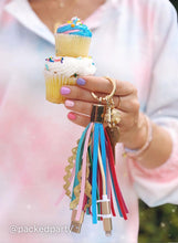 Load image into Gallery viewer, Sweet Treat Tassel Keychain from Packed Party