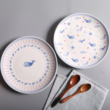 Load image into Gallery viewer, It Is Whale Dessert Plate Sets