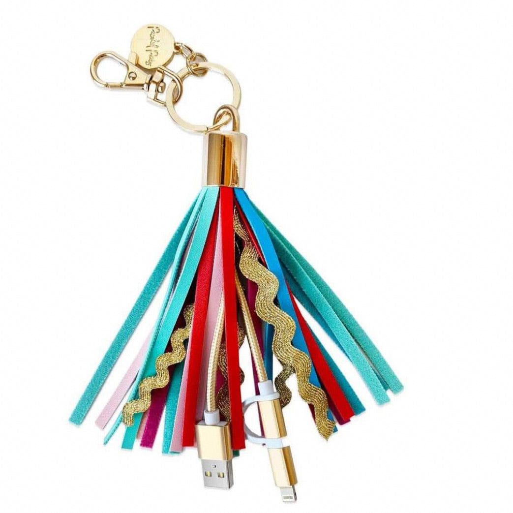 Sweet Treat Tassel Keychain from Packed Party