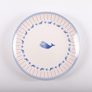 It Is Whale Dessert Plate Sets