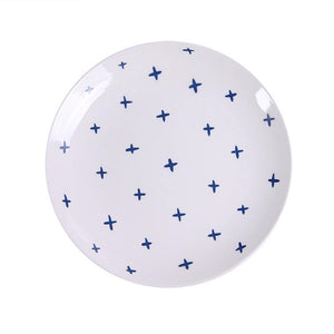 In The Navy Dessert Plate Sets