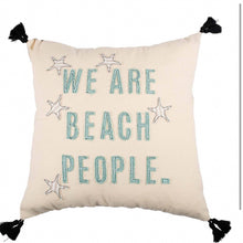 Load image into Gallery viewer, Beach People Pillow