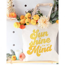 Load image into Gallery viewer, Sun Shine On My Mind Tote