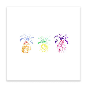 Pineapple Trio Print