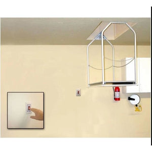 Versa Lift Model 24MH Mounted Wall Switch 11-14 ft - Storage Lift  Improve garage organization. Free up garage cabinets and garage shelving.