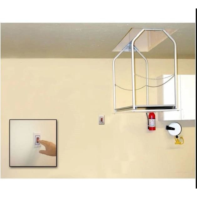Versa Lift Model 24MHXX Mounted Wall Switch 17-20 ft - Storage Lift Give yourself more garage storage.  Free up garage cabinets and garage shelving.