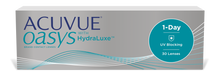 Lade das Bild in den Galerie-Viewer, ACUVUE OASYS 1-Day with HydraLuxe Technology (30er Packung)