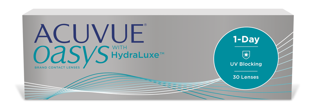 ACUVUE OASYS 1-Day with HydraLuxe Technology (30er Packung)