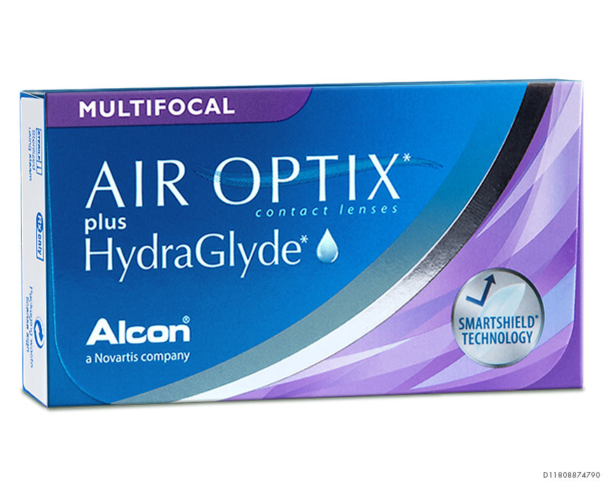 AIR OPTIX plus HydraGlyde MULTIFOCAL LO (3er Packung)