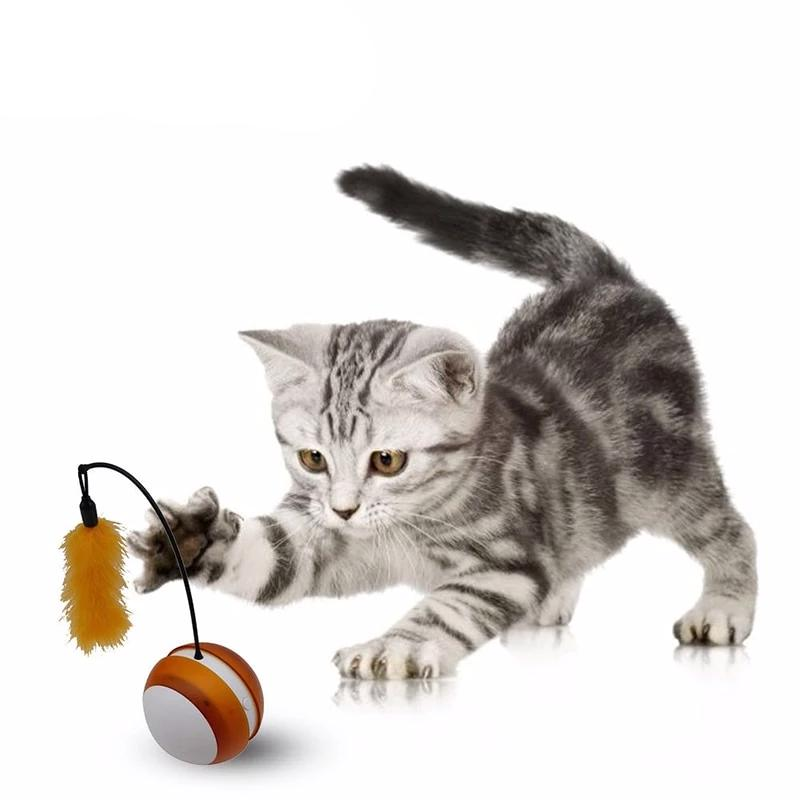 Smart Automatic Tumbler Cat Toy