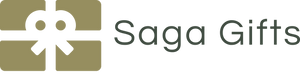 Saga Gifts Logo and Home Page