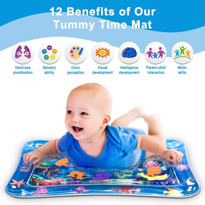 Inflatable Tummy Time Baby Water Mat (BUY 2 FREE SHIPPING)