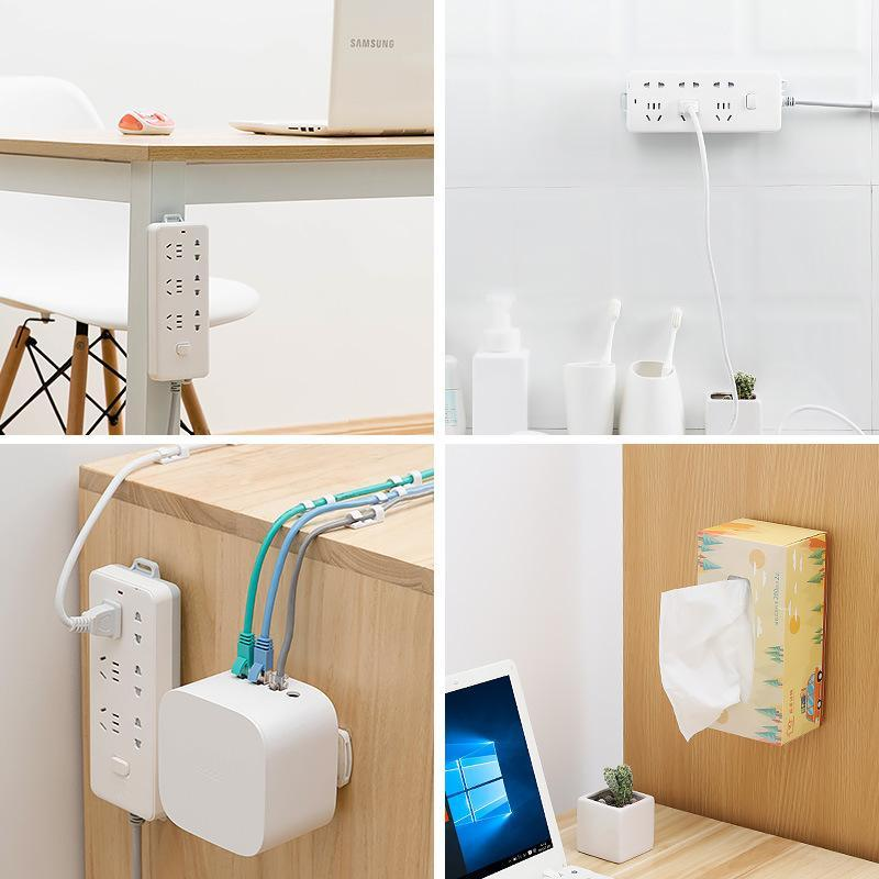 【HOT SELLING!!!】Self Adhesive Power Strip Fixator