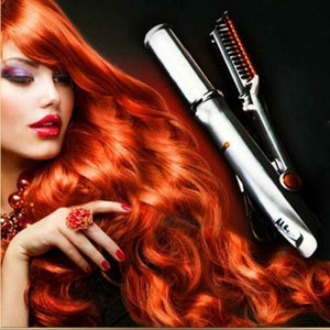 【LAST DAY 50% OFF】Titanium 2-Way Rotating Curling Iron
