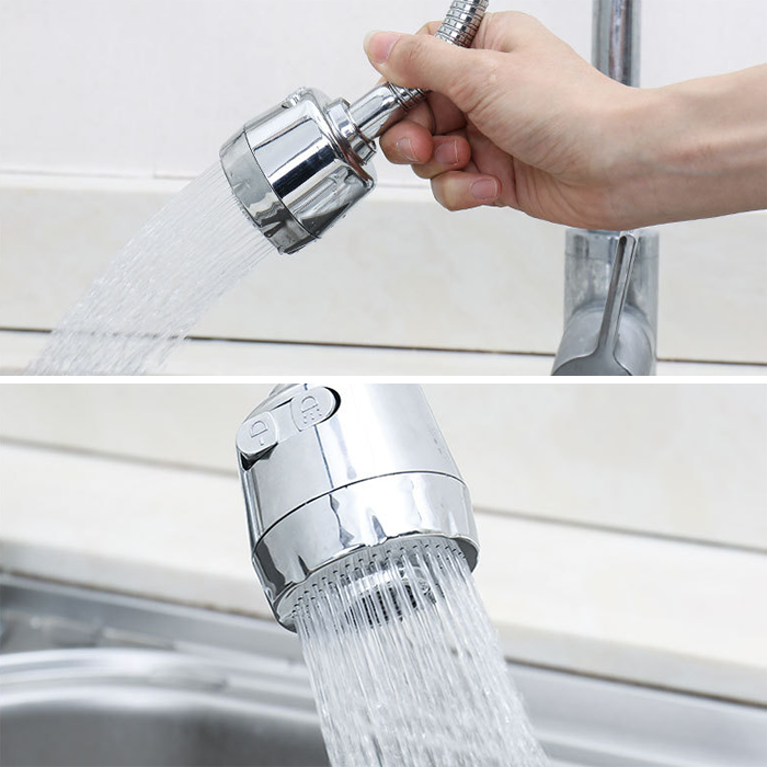 360° Rotating Faucet Booster Shower EASY AND ENJOYABLE TO USE!(50%OFF TODAY)
