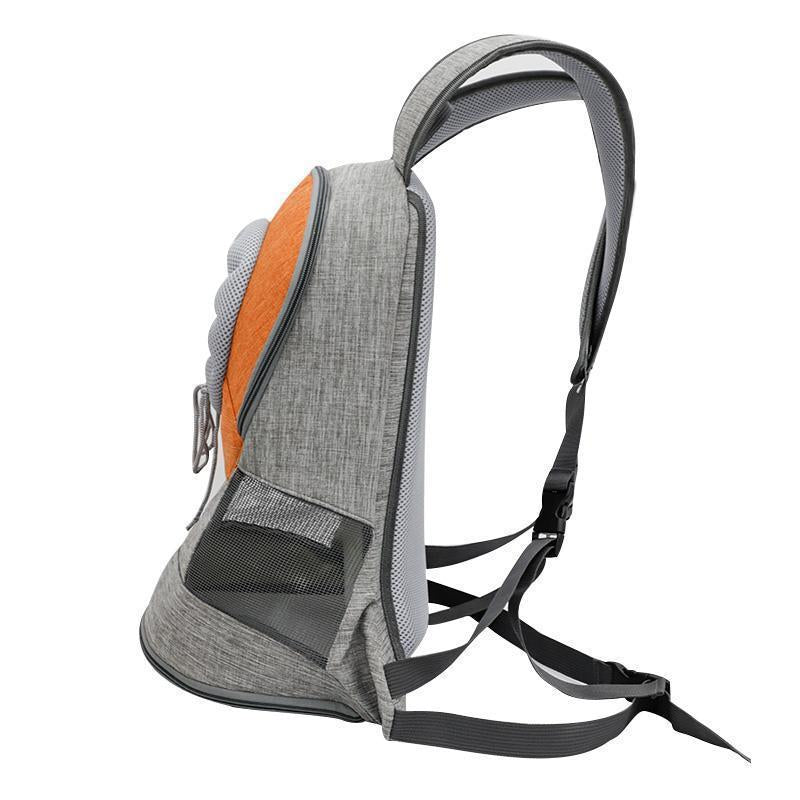 Breathable Comfortable Dog Cat Carrier Backpack For Small & Medium Puppy And Cats - Carrywon