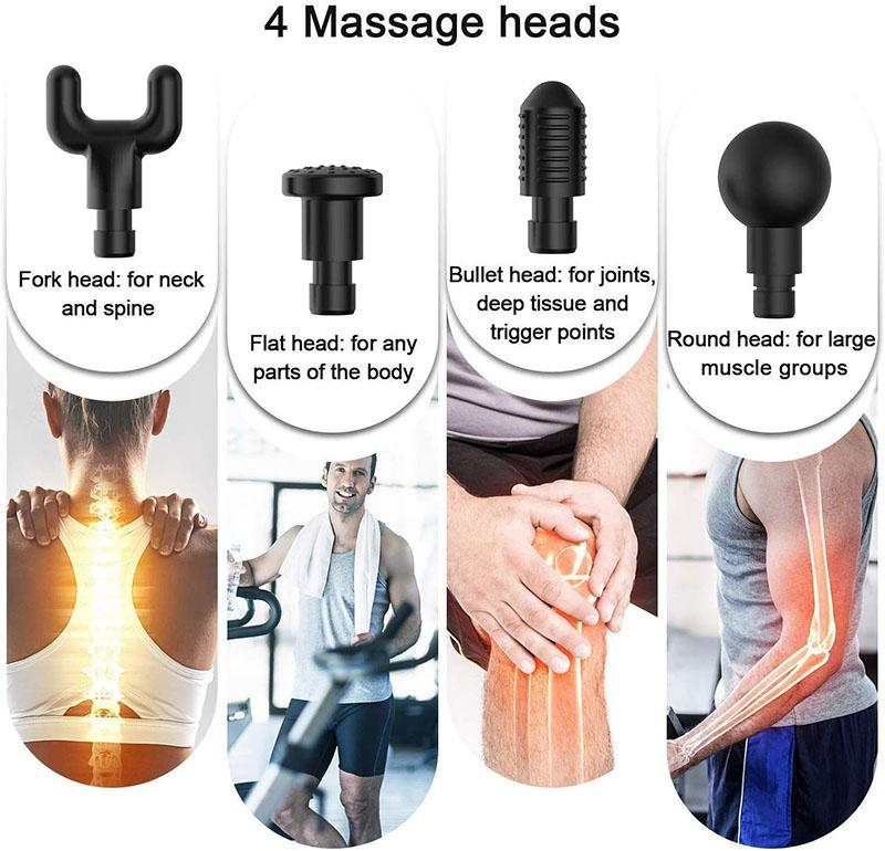 (2019 NEW 50%OFF Black friday!)Hand-held muscle massage fascia gun relaxer muscle tension relief massager