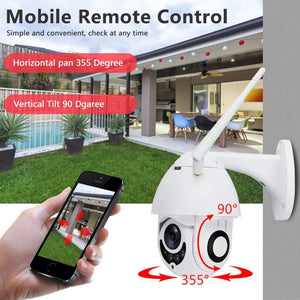 Outdoor Wifi Camera EASY AND ENJOYABLE TO USE!(50%OFF TODAY)