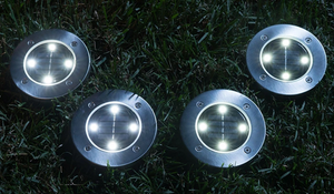 4PCS Solar Ground Lights (BUY 2 FREE SHIPPING)