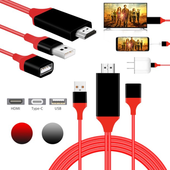 50% OFF TODAY! Mobile Phone Screen To TV Cable (BUY 2 FREE SHIPPING)