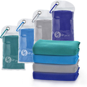 50%OFF TODAY! 4 PIECES ChillPad™ Instant Cooling Towel