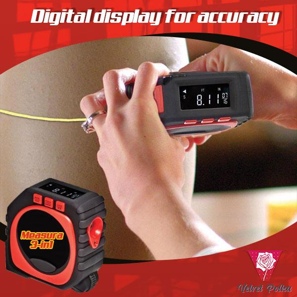 Measura™ 3-in-1 Digital Roller Measure (BUY 2 FREE SHIPPING)